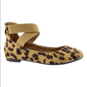 Ankle Strap Flats in Leonard Suede 7.5 NEW n Box
